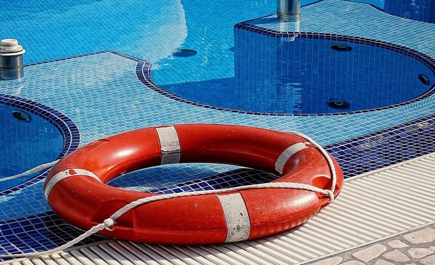Accidentes en la piscina