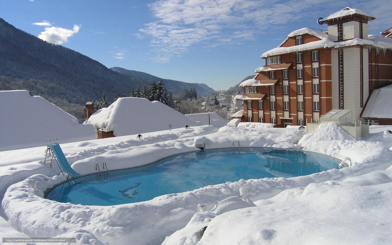invernar una piscina